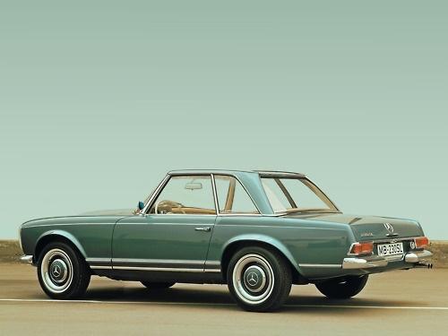 Mercedes-Benz 230 SL (W 113, 1963 bis 1971), 1963 bis 1967.